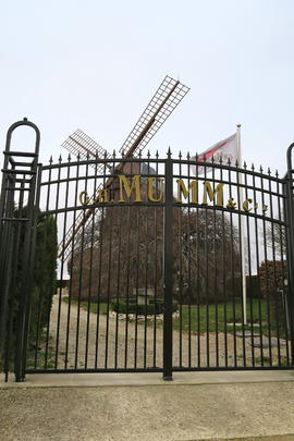 Mumm Windmill, Montagne De Reims, France