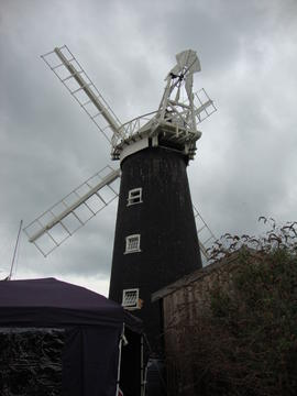 External view, High Street Mill, Wicklewood