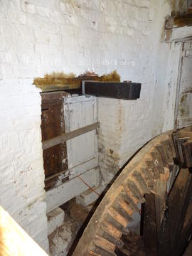 Pit wheel chamber, Combined Mill, Little Cressingham