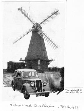 """The Windmill on the Hill at Herne"""