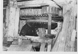 Upper Woodford Mill, Upper Woodford, internal, pit wheel, wallower, spur wheel, stone nut