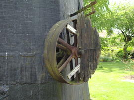 External pulley for engine drive, Impington Mill, Histon and Impington