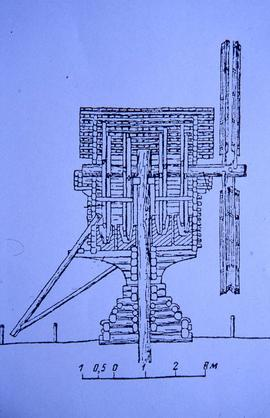 Russian oil mill diagram