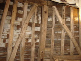 Dust floor framing, Lacey Green Windmill, Lacey Green
