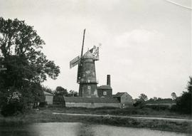 Tower mill, Denver, Norfolk, England