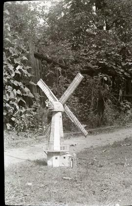 """Model of smock mill by CJF Buckland"""