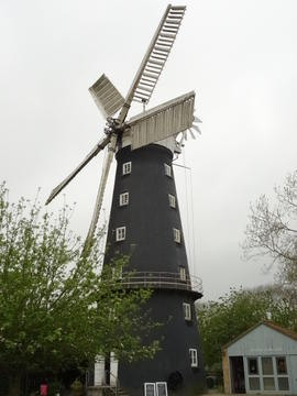 Hoyle's Five Sailed Mill, Alford