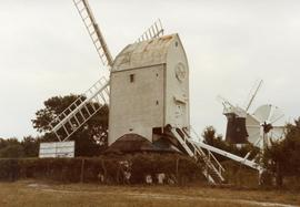 """Jill"" post mill, Clayton"