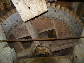 Compass-arm great spur wheel, Friary Mill, Blakeney