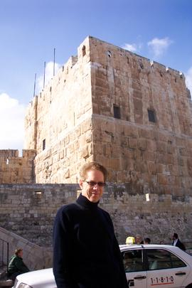 Vincent Pargeter, David's Tower, Jerusalem