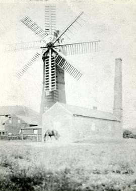Hill's Eight-sailed Mill, Market Rasen