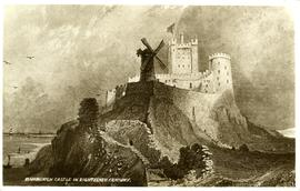"""Bamburgh Castle in Eighteenth Century"""