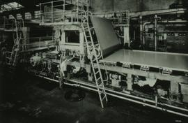 """Papermaking - Top former on Machine at Darwen"""