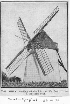 """The ONLY working windmill in Co Wexford"""