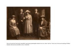 Photographs of the Chadwick family of Bank Mill, Bretherton