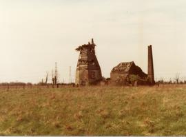 Derelict smock and steam mill, Baker Street, Orsett, Essex