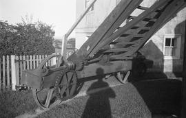 """Wheels and drive from fan, Windmill at Icklesham, Sussex"""