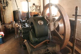 Clapton Mill - oil engine