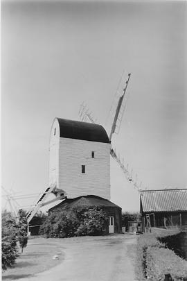 Aynthorpe Roding Post Mill, Aynthorpe Roding , after restoration