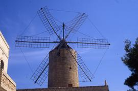 """Gozo windmill, six sails"""