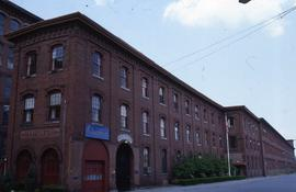 """Lowell, USA, Hamilton Steam Mill & Offices"""