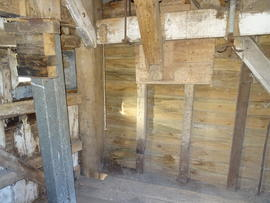Spout floor breast and right side framing, New Mill, Cross in Hand
