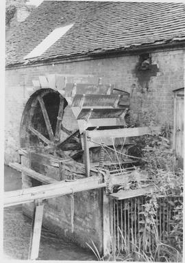 Foundry Mill, Bucklebury, wheel