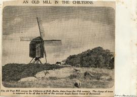"""An old mill in the Chilterns"""