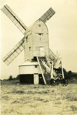 """Cross-in-Hand, Sussex (a working mill)"""