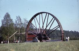 """Ludvika Museum, Sweden Waterwheel"""