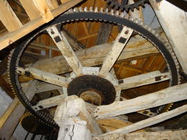 Great spur wheel, smock mill, West Blatchington