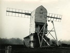 Gissing Post Mill, Norfolk