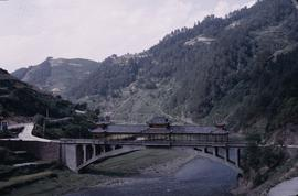 China, Kaili Bridge to Mino Village