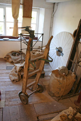 Bishop's Lydeard Mill - sack truck