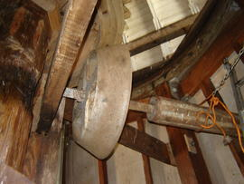 Sack hoist, Lower Mill, Woodchurch