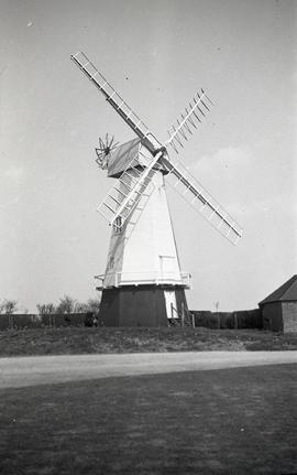 """Windmill at North Common, Chailey, Sussex"""