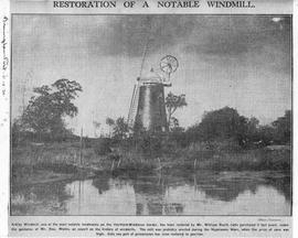 """Restoration of a Notable Windmill"""