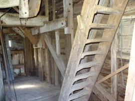 Spout floor right side framing, New Mill, Cross in Hand