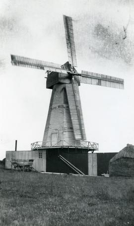 Smock mill, Dallington, Sussex, England