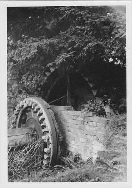 Blewbury Mill, Blewbury, wheel remains