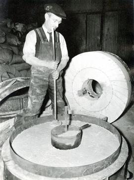 The process of making a composite millstone