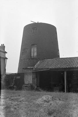 """Windmill at Thorngumbald, Burstwick, Yorks"""