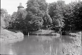 """Tower of Hounslow powder mill and remains of watermill, Middsx"""