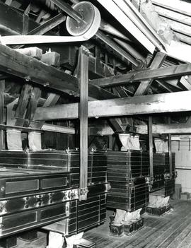 Third floor showing plansifters, Castle Mill, Beccles, Suffolk