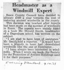 """Headmaster as a Windmill Expert"""
