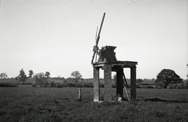 """Remains of windmill at Hillesden, Bucks"""