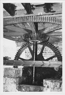 Donnington Mill, Donnington, internal, pit wheel, wallower, spur wheel