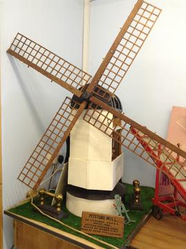 Model of Pitstone Windmill, Pitstone