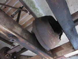 Sack hoist, Combined Mill, Little Cressingham