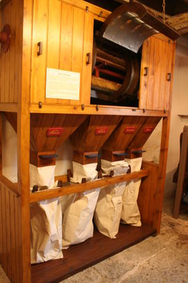 Bishop's Lydeard Mill - flour dressing machine